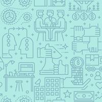 Bedrijfs naadloos vectorpatroon
