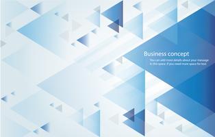 abstracte blauwe driehoek achtergrondbehang vectorillustratie