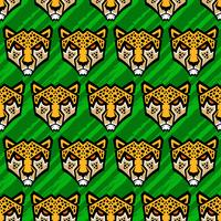 Cheetah grote kat vectorillustratie