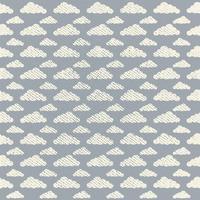 Vector naadloos Grunge wolkenpatroon