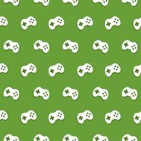 Vector naadloze spelbesturing patroon