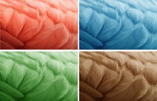 Textuurachtergrond in vier kleuren vector