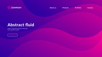 Abstracte achtergrond Website-bestemmingspagina vector