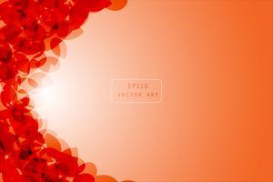 Oranje abstracte achtergrond vector