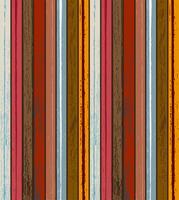Kleurrijke houtstructuur achtergrond vectorillustratie. Materiaal en textuur concept.