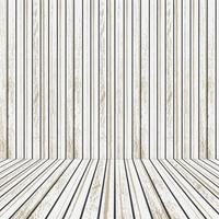 Wit houten podium voor reclame