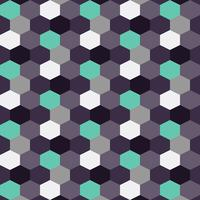 Blueberry achtergrondpatroon kleur zeshoek