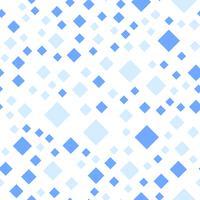 Naadloze patroonachtergrond. Modern abstract en Klassiek antiek concept. Geometrisch creatief ontwerp stijlvol thema. Illustratie vector. Blauwtinten. Rechthoekige vierkante vorm vector