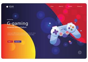 Webpagina ontwerp vector