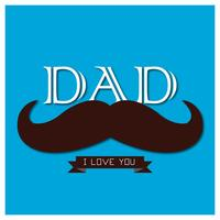 Happy Father Day Illustratie