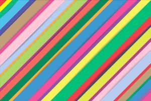 Abstracte kleurrijke stroken lijn achtergrond. vector