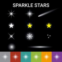 Sparkle sterren effect