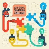 brainstormen vector