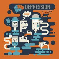 Depressie vector