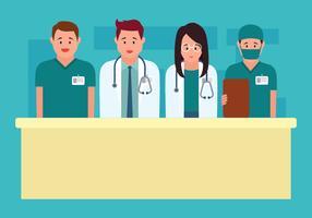 Gezondheidszorg tekens Vector