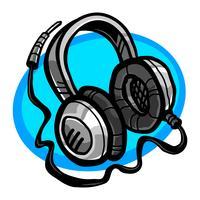 Koptelefoon Muziek Accessoire vector pictogram