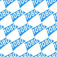 1080 grafische tekst van het hoge definitie videoformaat