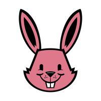 Cartoon konijn grafische
