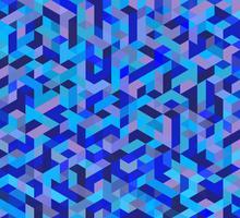 Paarse driehoekige mesh vector