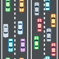auto's naadloos patroon