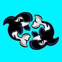 Orka Orka illustratie vector