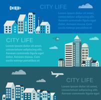 Infographics van de stad vector
