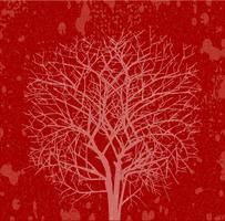 Rood silhouet vector