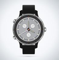 Modern en trendy horloge vector