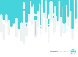 Abstracte blauwe en grijze afgeronde lijnen verticale Halftone overgang achtergrond. vector