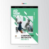 Creatief zakelijk ontwerp