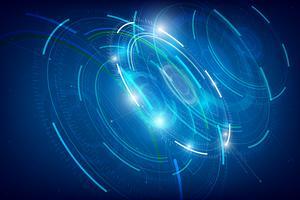 Abstracte HUD-technologieachtergrond 009