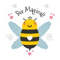 bijen magische vector