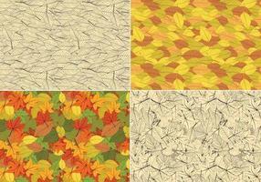 Naadloze bladeren Vector patroon