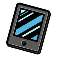 tablet vector pictogram
