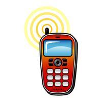 Slimme telefoon vector pictogram