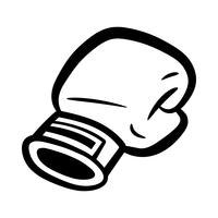 Bokshandschoenen Ponsen vector