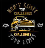 Beperk je uitdagingen niet