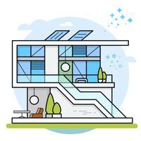 Huis illustratie