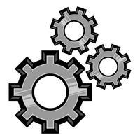 Versnellingen Vector Icon