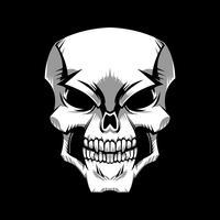 Grafische schedel