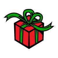 kerstcadeau vector