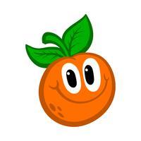 Oranje fruitillustratie vector