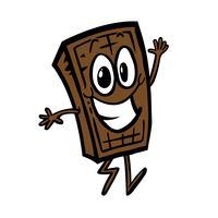 chocoladereep cartoon