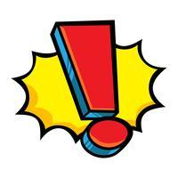 Uitroepteken vector pictogram