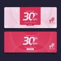 Cadeaubon Premium ontwerpbon, couponsjabloon Golden, ontwerpconcept voor waardebon