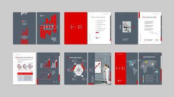 Brochure creatief ontwerp vector