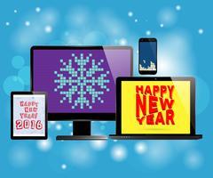 Nieuwjaarsgeschenk vector