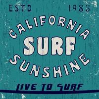 Vintage stempel van Californië