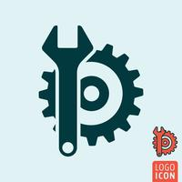 Service pictogram geïsoleerd