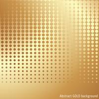 Gouden halftone achtergrond vector